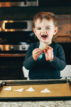 Cooking is always more fun with a little helper - NANCY PATTERSON