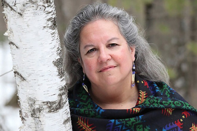 Author Robin Wall Kimmerer talks about the importance of nature to humans. - DALE KAKKAK