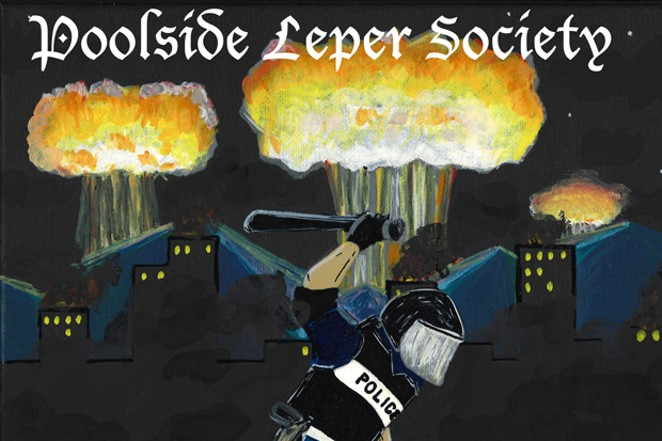 Don't miss out on Poolside Leper Society's debut! - COURTESY POOLSIDE LEPER SOCIETY
