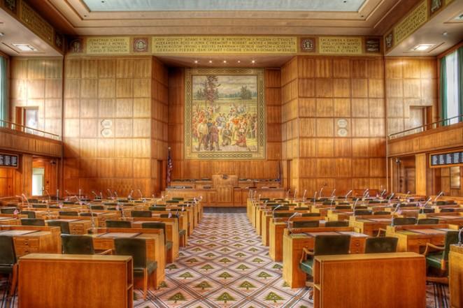 Oregon State House of Representatives in Salem. - COURTESY PHOTOATELIER / WIKIMEDIA COMMONS
