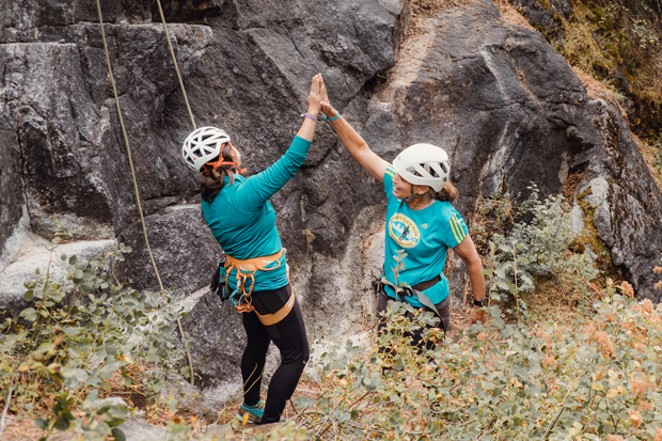 Build community while learning new adventure skills at the Bend AdventureUs Escape Retreat this May. - COURTESY ADVENTUREUS WOMEN