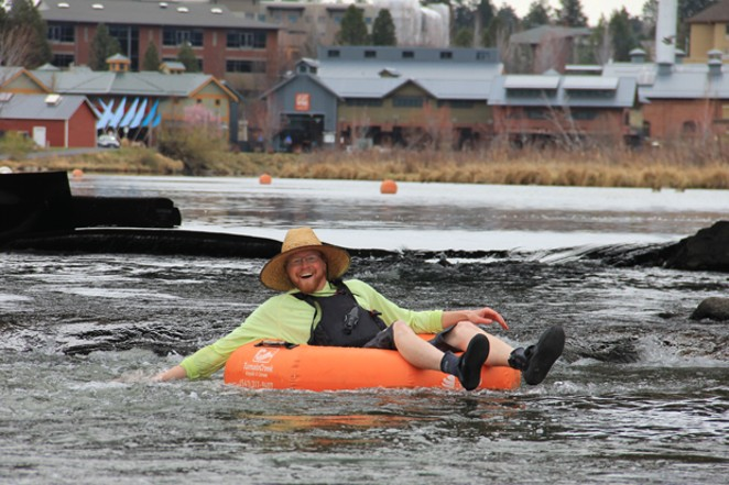 Hat, check! Long sleeves, check! Closed-toe shoes, check! This floater is fixed for fun. - K.M. COLLINS