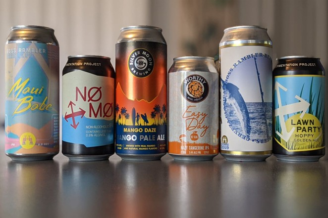 Summertime beer lineup: Imminently crushable. - BY HEIDI HOWARD