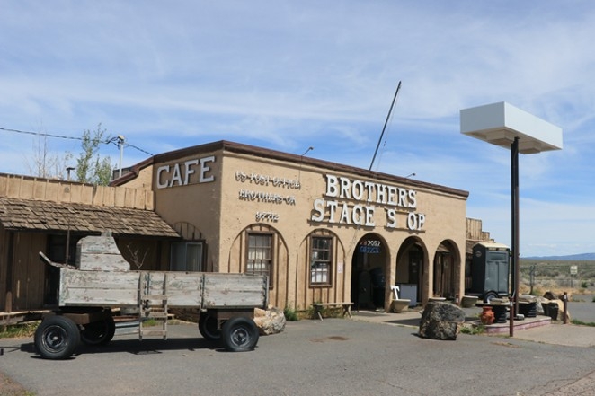 The Brothers Stage Shop has been serving customers since they arrived in covered wagons, and is one of the last travel hubs between Bend and Burns. - JACK HARVEL