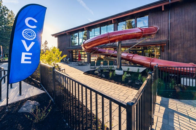 Waterslides and spas...what more do you need? - COURTESY SUNRIVER RESORT