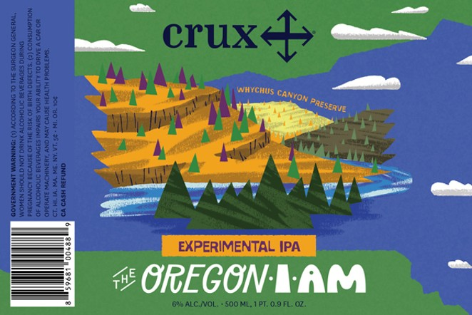 The Crux of it all—support public lands! - COURTESY CRUX FEMENTATION PROJECT