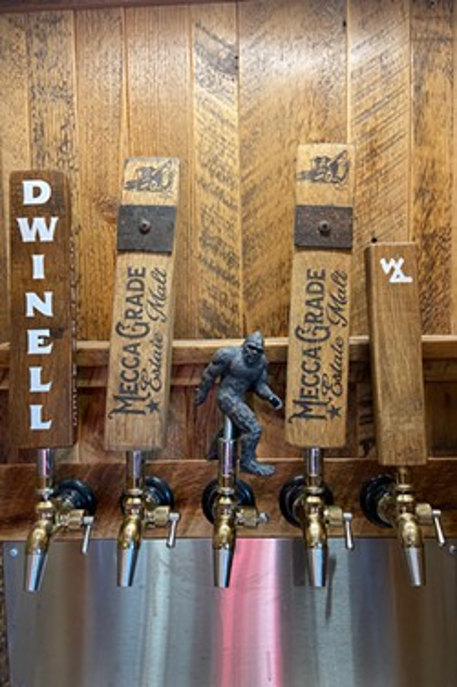 Visitors can taste what malt does for beer. - BRIAN YAEGER
