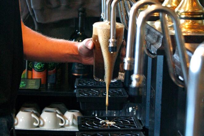 Porter Brewing's delicious cask ales. - KEELY DAMARA