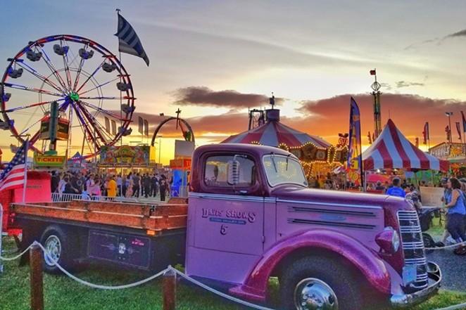 More than 35 carnival rides return to the fairgrounds. - COURTESY DESCHUTES COUNTY FAIR