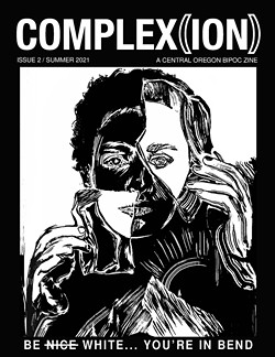 The cover of the upcoming Complex(ion) zine, created by the COBIPOC group. - COURTESY COBIPOC/BY BEAR PATTON