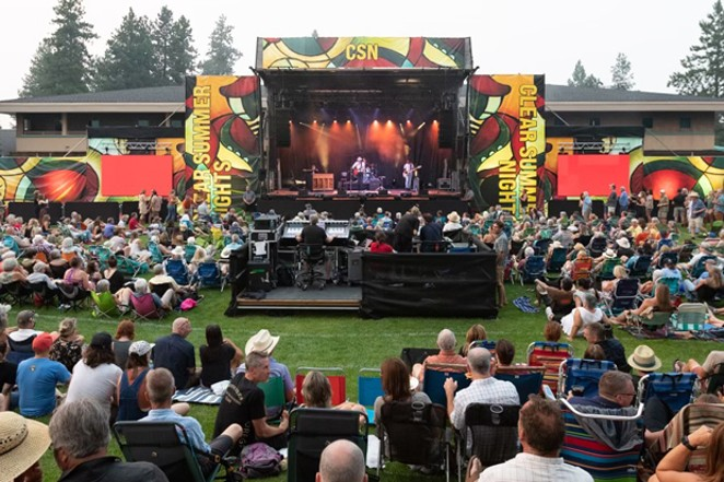 Clear Summer Nights, the music series at The Athletic Club of Bend, will offer on-site rapid COVID testing for attendees at its shows starting Sept. 12. - JILL ROSELL