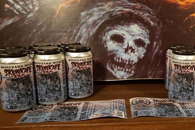 You don't have to be a board jocky to quaff this brew, but it's tast might be even a little sweeter. - COURTESY BONEYARD BREWING