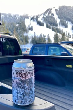 This can feels right at home in the shadow of the mountains and in the palm of your hand. - COURTESY BONEYARD BREWING