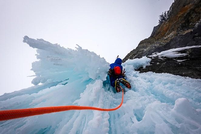 Graham Zimmerman had to evacuate off the K2 Mountain in Pakistan due to heat. - COURTESY GRAHAM ZIMMERMAN