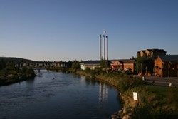 This year's race starts and ends in Bend's Old Mill District. - WIKIMEDIA COMMONS