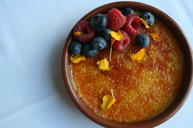 The creme brulee reigns supreme - PHOTOS COURTESY OF ARIANA RESTAURANT
