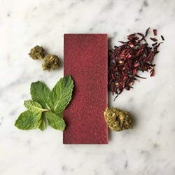 For edibles, Leif Goods also makes delicious treats, like the Mint Hibiscus Chocolate - LEIF GOODS