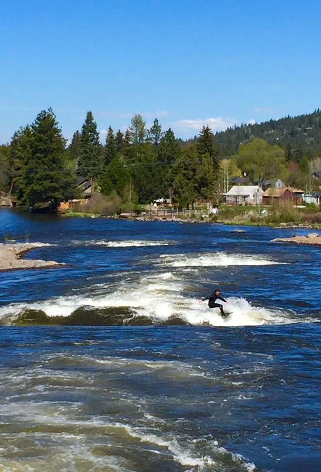 White Water Park on a sunny Bend morning. - LEIGHA THRELKELD