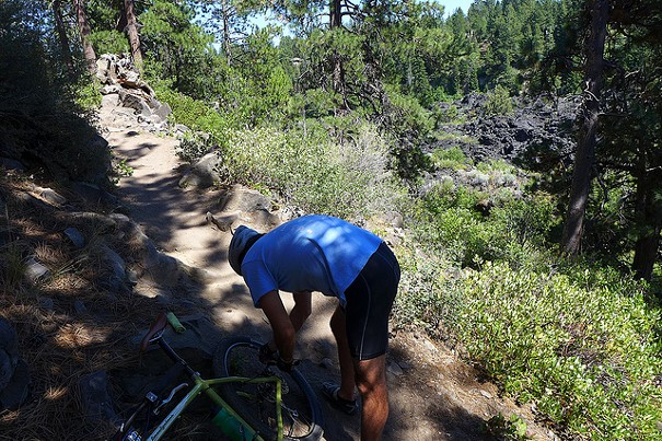 The Deschutes River Trail has stalled, leaving some cyclists in the lurch. - PHOTO BY CYCLOTOURIST ON FLICKR.COM