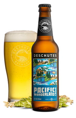 Pacific Wonderland Lager, a new Deschutes brew, is one of LaLonde's favorite beers. - DESCHUTES BREWERY