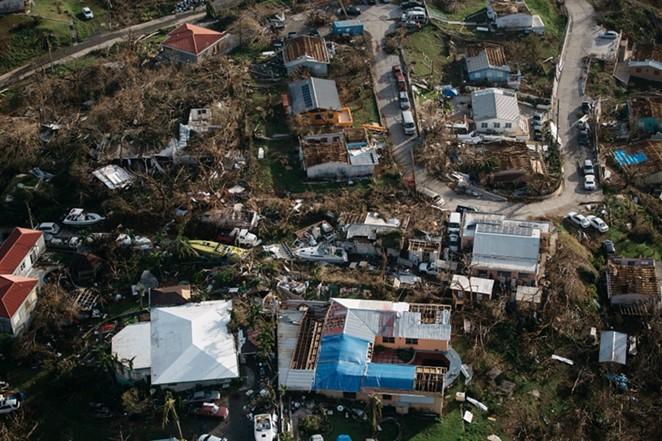 Devastation caused by Hurricane Irma - GO FUND ME HURRICANE IRMA