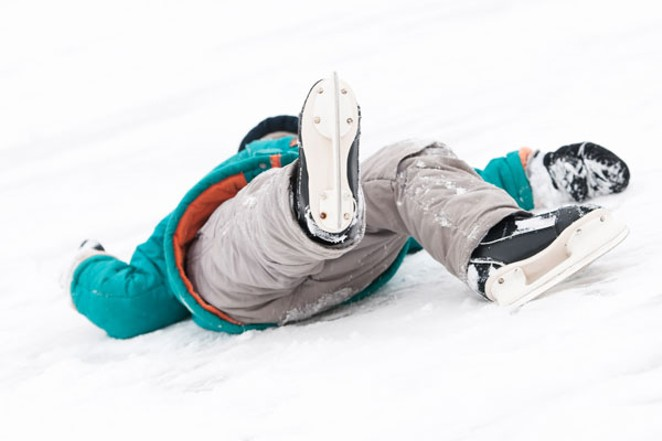 This fallen skater is not the author, though one of his tumbles did look like this. - CANSTOCK.COM