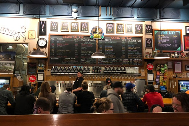 With a full tap list, Russian River Brewing has something for every drinker. - KEVIN GIFFORD