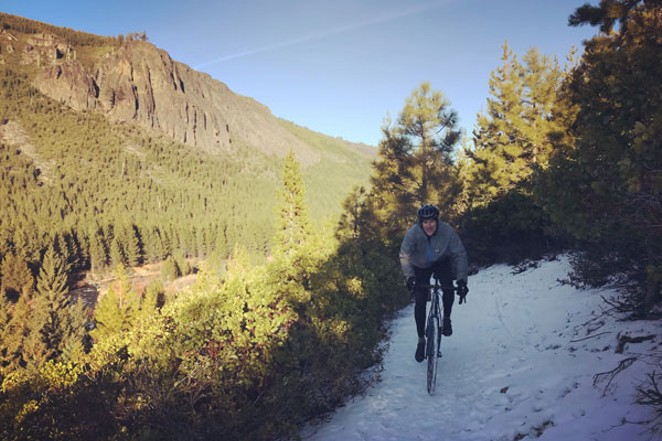 Tumalo Creek trail between Skyliners Sno-Park and Tumalo Falls. - LUCAS ALBERG