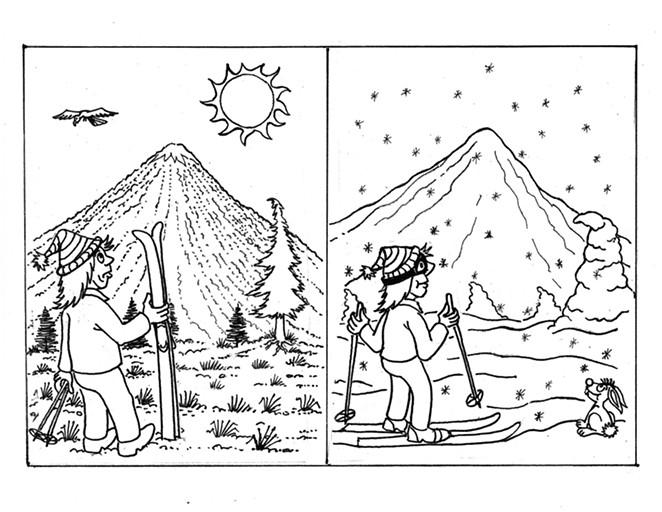 No snow on the mountain: snow on the mountain - BILL FRIDAY