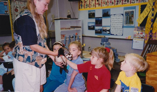 Show and Tell, 2nd Grade 1995. - CONTRIBUTED BY KEELY DAMARA