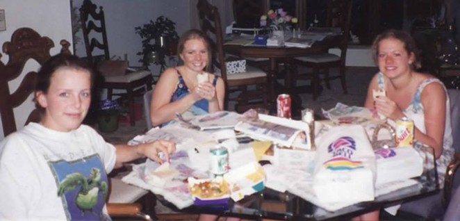 Back in the dizzy, when Taco Bell really was on the menu on the regs. - SUBMITTED BY NICOLE VULCAN