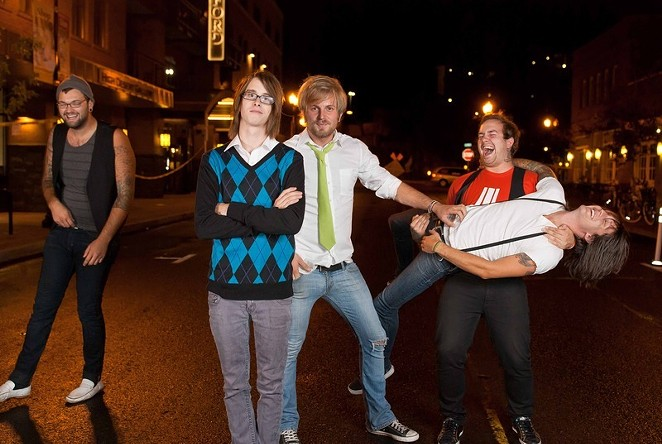 Bend's former purveyors of pop-punk, Capture the Flag, get back together for one night only at the Domino Room 5/10. - SUBMITTED