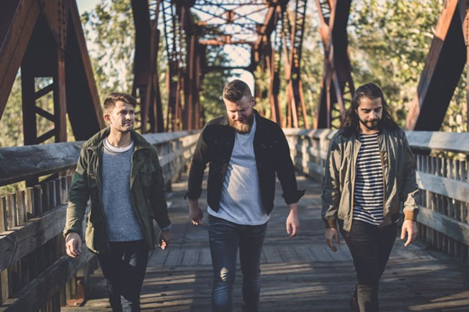 Mike McFadden, center, and Animal Years will appeal to fans of The Lumineers, Josh Ritter and The Head and The Heart. - SUBMITTED