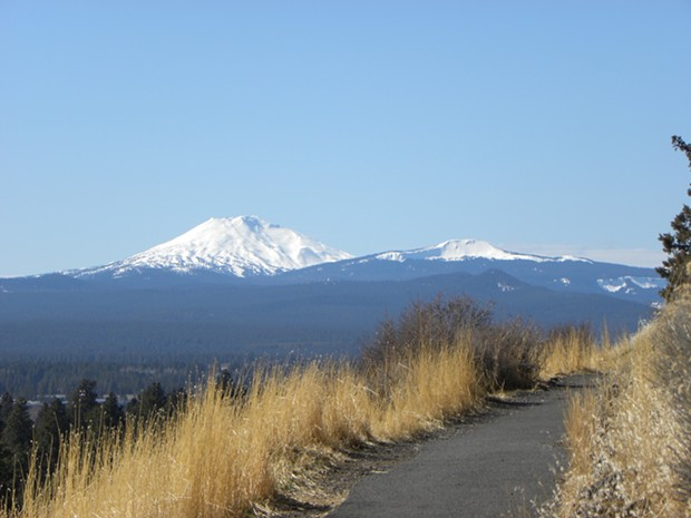 The view from Pilot Butte State Scenic Viewpoint in Bend, Ore. - MARELBU