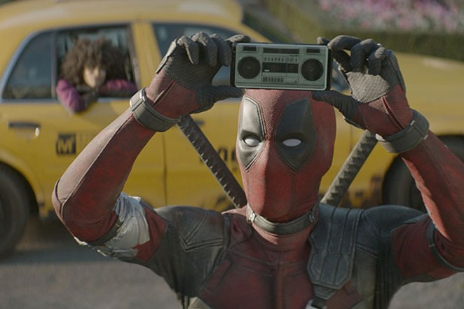 You could even say that if left to his own devices, Deadpool would...Say Anything. - 20TH CENTURY FOX