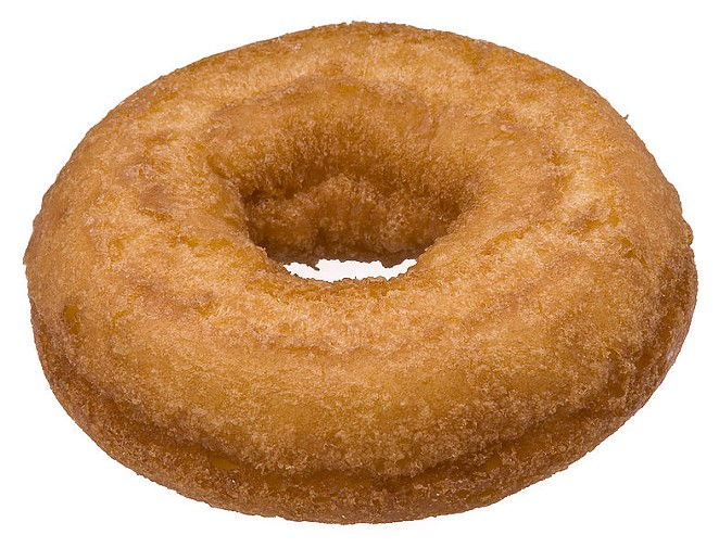 Cake donuts: Rather old school and often coming with fewer accoutrements—unless you're Voodoo Donuts, of course. - S