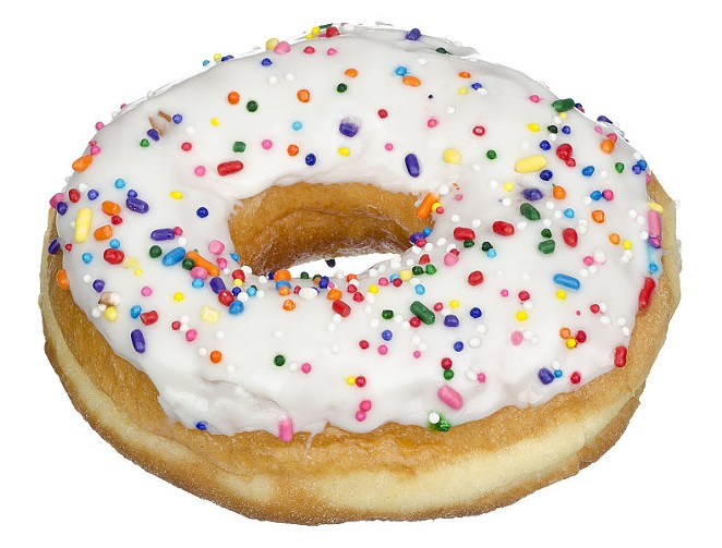 Raised donut fan? It probably means you're full of air. - IN