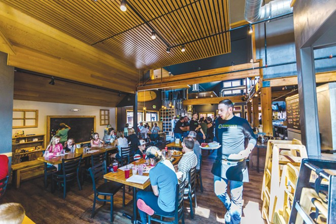Get into the Kid Zone at Sunriver Brewery. - SUBMITTED