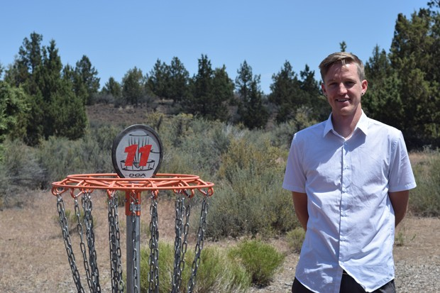 Mike Beshore and other disc golfers hope that the 18-hole course can be reconfigured. - JACLYN BRANDT / CITY OF BEND