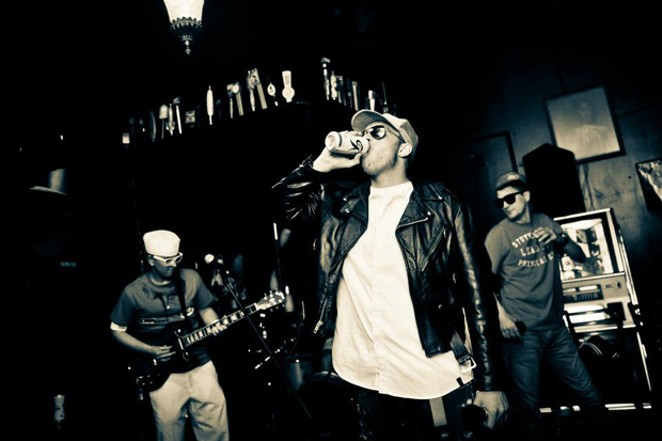 Fight for your right to party with Beastie Boys tribute band Grand Royale on the main stage at Summer Fest this Friday - SUBMITTED.