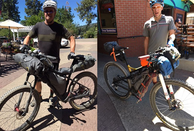 The mantra of bikepacking: Less is more. - DAVID MARCHI