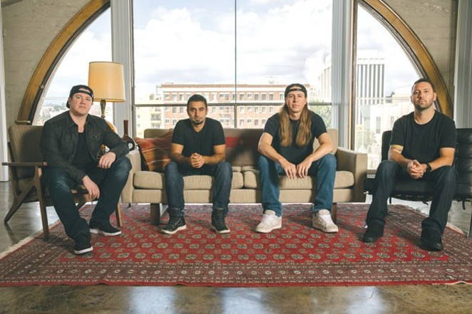 Rebelution is hardly sitting on its Grammy nomination as the band hits the road and churns out new music. - GUS BLACK