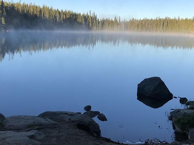 Taylor Lake. - NICOLE VULCAN