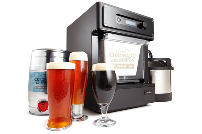 A PicoBrew—the Keurig version of homebrewing. - SUBMITTED