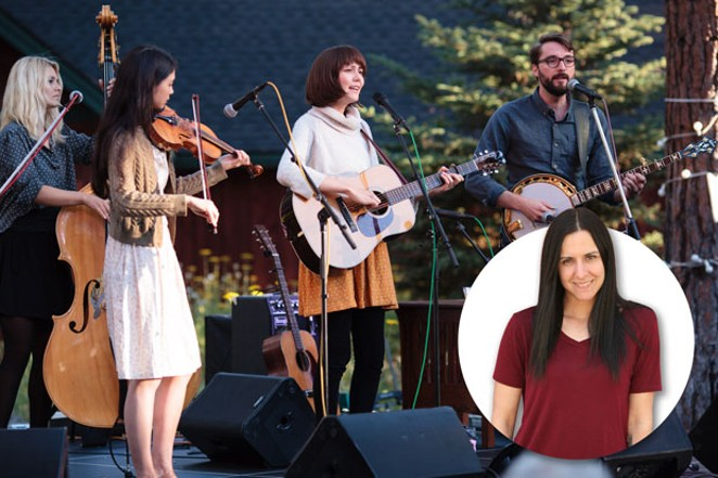 Phoebe Hunt & The Gathers performs several times throughout the weekend at Sisters Folk Festival. - SUBMITTED.