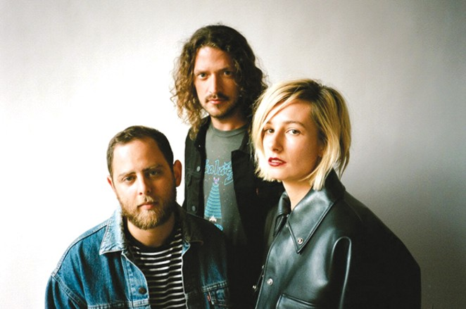 Slothrust brings a neo-grunge sound to the Volcanic Theatre Pub on 9/22. - SUBMITTED