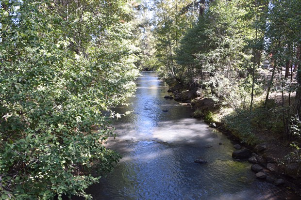 Whychus Creek will soon undergo upgrades to help fish spawn and direct people to enter only at certain points. - JACLYN BRANDT