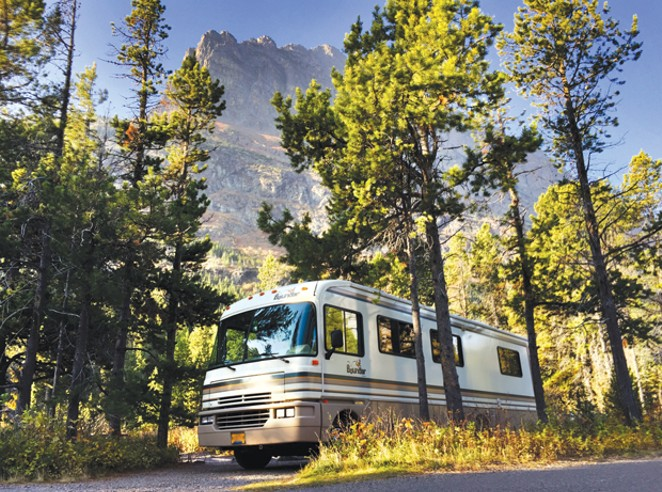 """""""The Far Green Country"""" takes viewers on a journey with husband and wife Eli and Kelly as they move into a motorhome with their son in an attempt to save their marriage and reconnect with the outdoors. - SUBMITTED"""