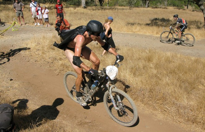 Carl Decker, champion of SSWC '08 in Napa Valley, Calif. - SUBMITTED
