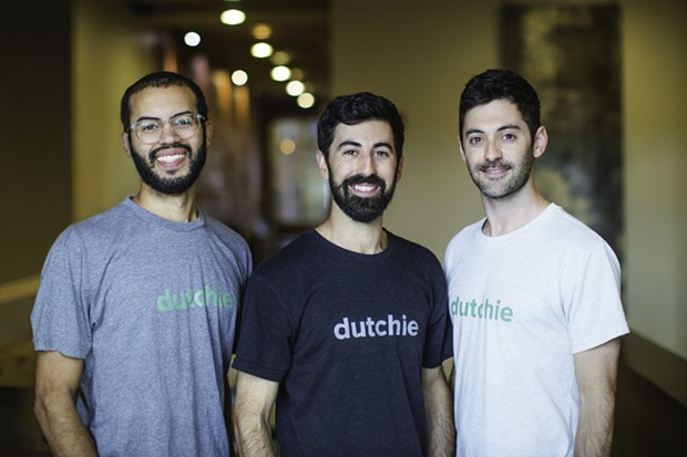 The founders of dutchie. A cannabis delivery service headquartered in Bend, OR. - SUBMITTED
